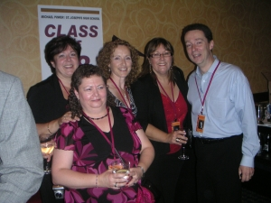 Judy Galbraith, Mary McDowell, Patti Conderan, Debbie Ellis, Scott McNally