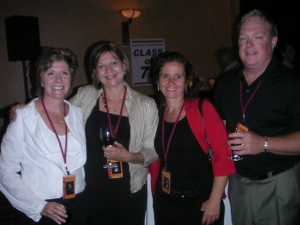 'Three Kathys and a Gord' Kathy Lucas, Kathy Novak, Kathy Morrison, Gord Ross