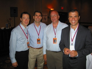 Scott McNally, Jerry Cachia, Pat Cooper, Denis Gubert