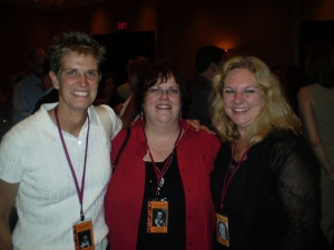Michelle Johnston, Christine Thompson, Charlene Pankovcin