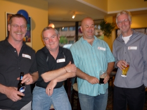 Patrick Grace, Mike Kirby, David Stewart, Jeff Hudson