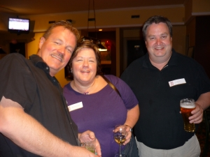 Dave Cook, Maureen Donovan, Chris Bannon