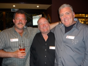 Tony Murgel, Bill Gilkinson, Kevin Phillips