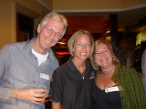 Jeff Hudson, Tracy (Rest Mgr), Leslie Corrigan