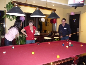Debbie Antonacci, Debbie Liiv, Paul (pool shark) Smith