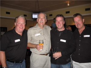 Gord Ross, Frank McGrath, Greg Furgala, Pat Kehoe