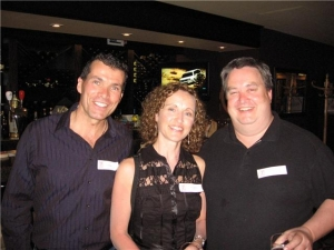 Paul Smith, Patti Conderan, Chris Bannon